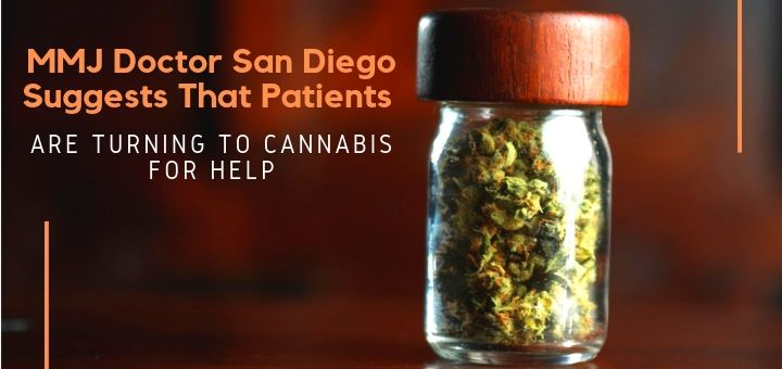 MMJ Doctor San Diego Suggests That Patients Are Turning To Cannabis For Help