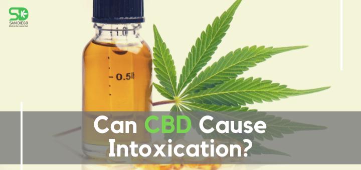 CBD Cause Intoxication